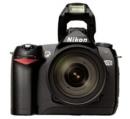 Фотоаппараты Nikon D70 kit (объектив AF-S 18-70 f/3.5-4.5 G ED в комплекте)