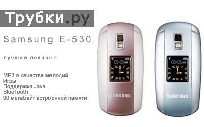 Мобильный телефон Samsung SGH-E530- лучший подарок